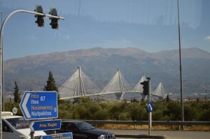 the Rio-Antirrio Bridge/Charilaos Trikoupis Bridge