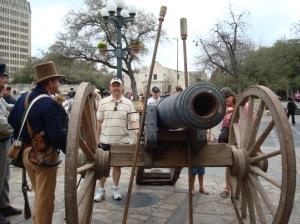 The Alamo's 18 Pound Canon
