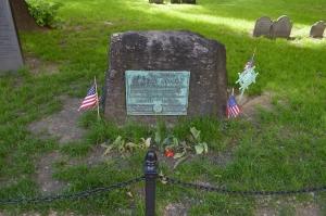 Samuel Adams' grave