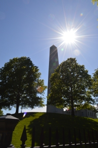 The 221 ft. high monument to the battle of Bunker Hill