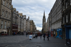 High Street,  the Royal Mile
