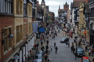 the streets of Chester