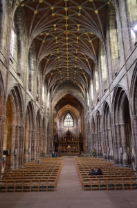 The Nave of Chester Cathedral