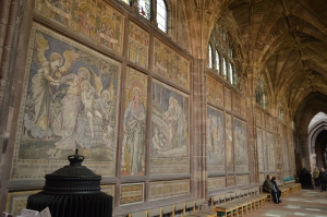 Some of the art of Chester Cathedral