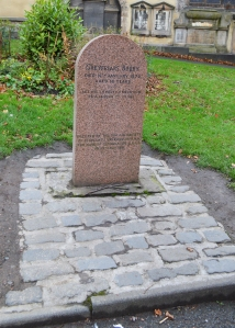 Greyfriers Bobby's grave
