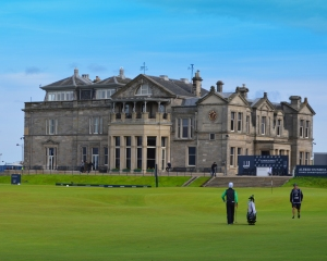 The Clubhouse of the Royal and Ancient Golf Club.