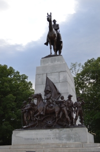 The monument to the Army of Northern Virginia at Gettysburg