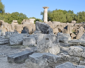 The Ruins of the Temple of Zeus