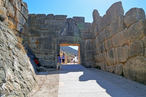 The Lions Gate of Mycenae
