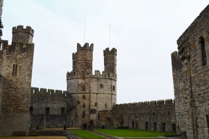 The Eagle Tower, the grandest tower of Caerarfon Castle