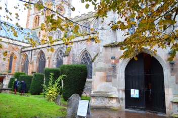 Church of the Holy Trinity in Stratford-upon-Avon, where Shakespeare is buried