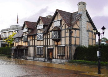 Front of Shakespeare's birthplace