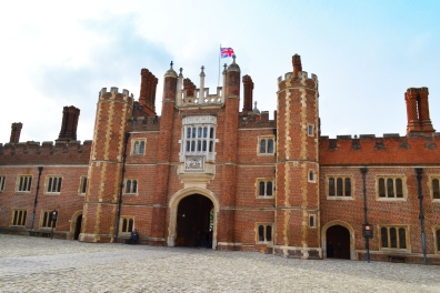 The gate to the inter courtyard of Hampton Palace