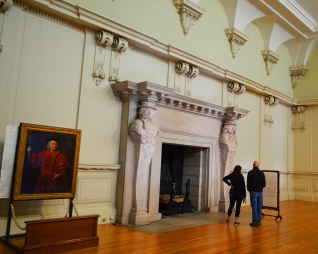 The Great Fireplace in Hampton Palace