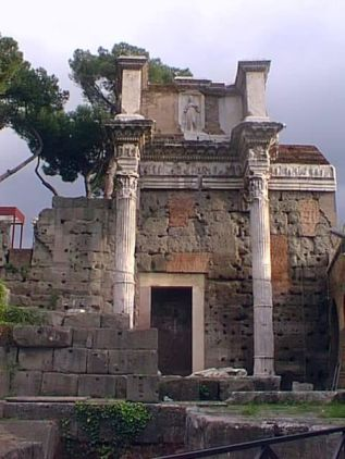 The Temple of Minerva in the Forum of Nerva
