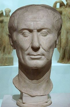 Julius Caesar, the Tusculum bust, the only known sculpture during his life
