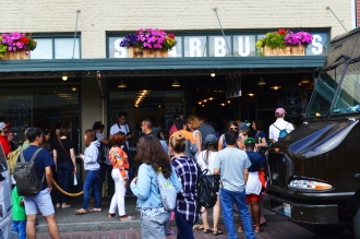 The original Starbucks store or is it