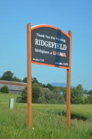 Ridgefield sign