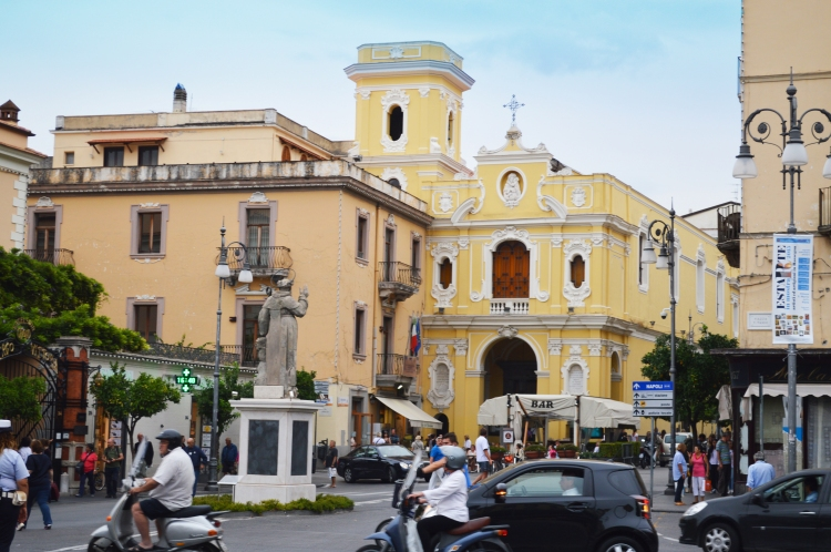 Plaza in Sorrento