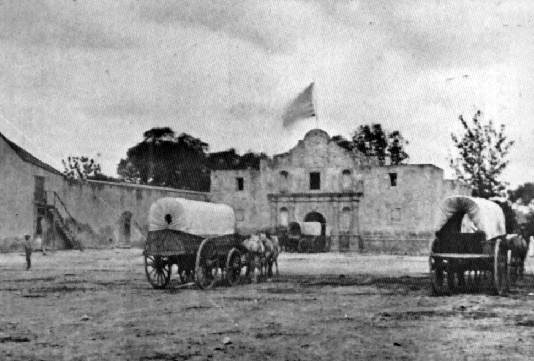 alamo-storage in the 1860's