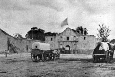 alamo-storage in the 1860's