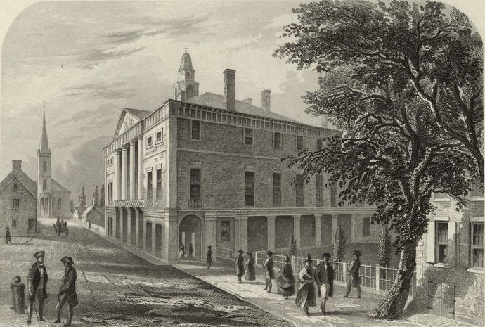 Federal Hall New York, the first house of the Congress