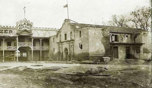 The Alamo church and Hugo-Schmeltez