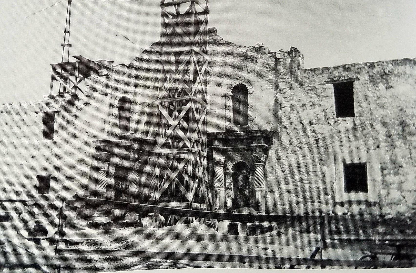 Alamo gets a new roof
