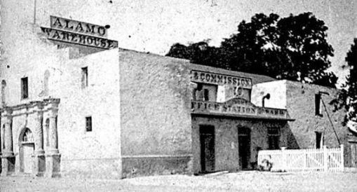 the Alamo church as it was a warehouse